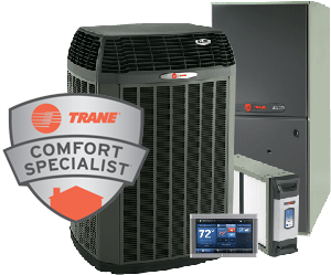 Trane AC service in Osseo WI is our speciality.